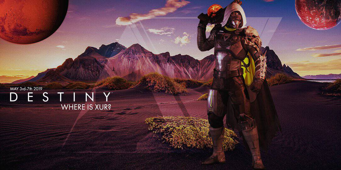 Where is Xur and what is he selling? May 3-7th