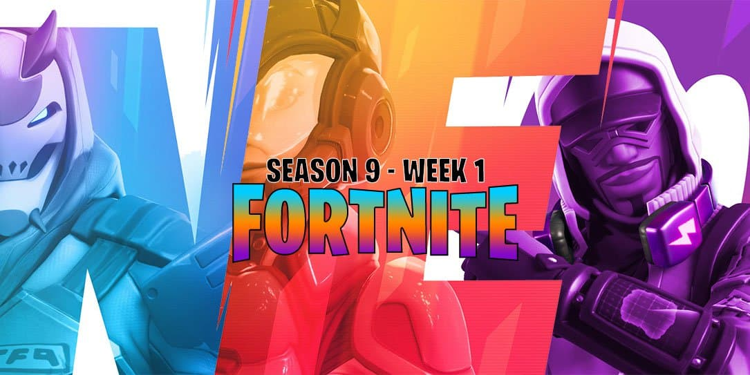 Fortnite Season 9 Week 1 Challenges Ride A Slipstream Deal Damage
