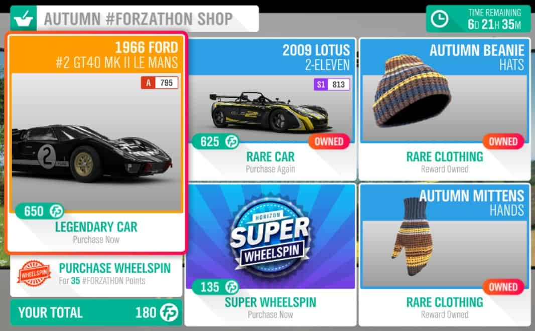 Forza Horizon 4 #Forzathon May 16-23 Autumn #Forzathon Shop screenshot