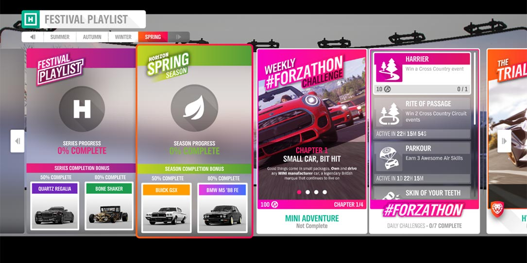 Forza Horizon 4 #Forzathon May 30-June 6: