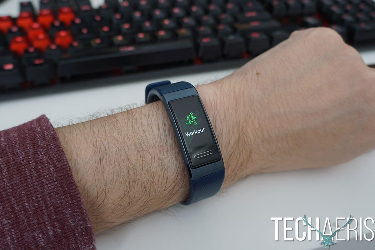 Huawei Band 3 Pro Review: The Bigger Brother To The Huawei