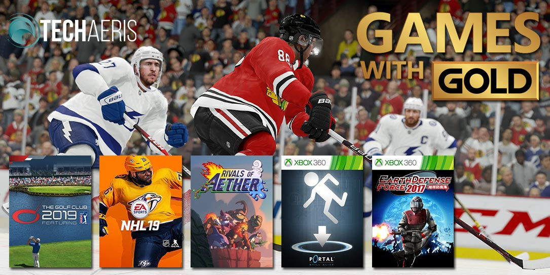 June 2019 Xbox Games With Gold Portal Sports And More