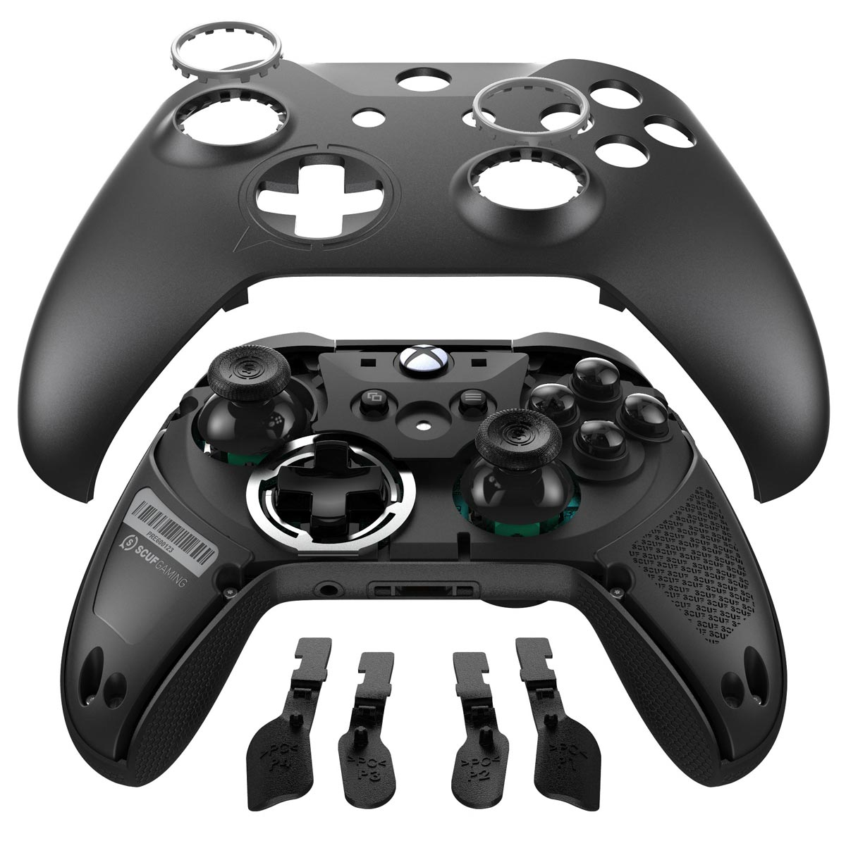 The SCUF Prestige Xbox One controller can be customized for each gamer's preference.