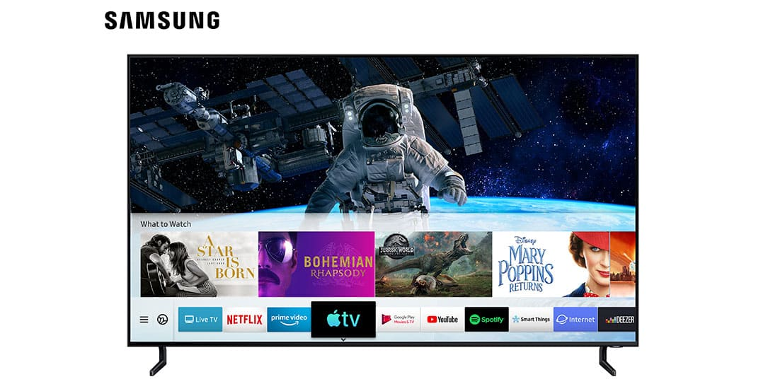 Apple TV and AirPlay 2 on Samsung TV