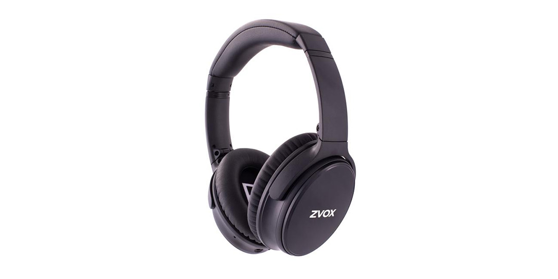 ZVOX noise cancelling headphones