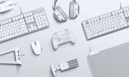 Razer Mercury Collection white gaming peripherals