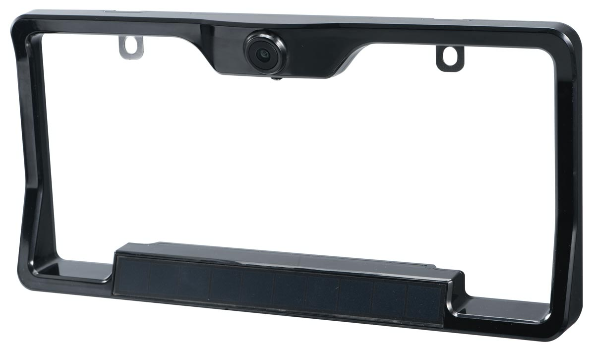 The FenSens Wireless Backup Camera license plate cover
