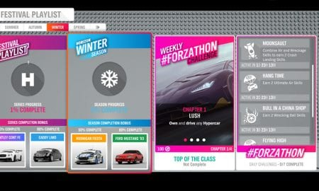 Forza Horizon 4 #Forzathon June 20-27 challenges