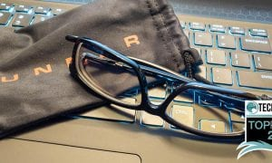 GUNNAR Haus Onyx blue light blocking computer glasses