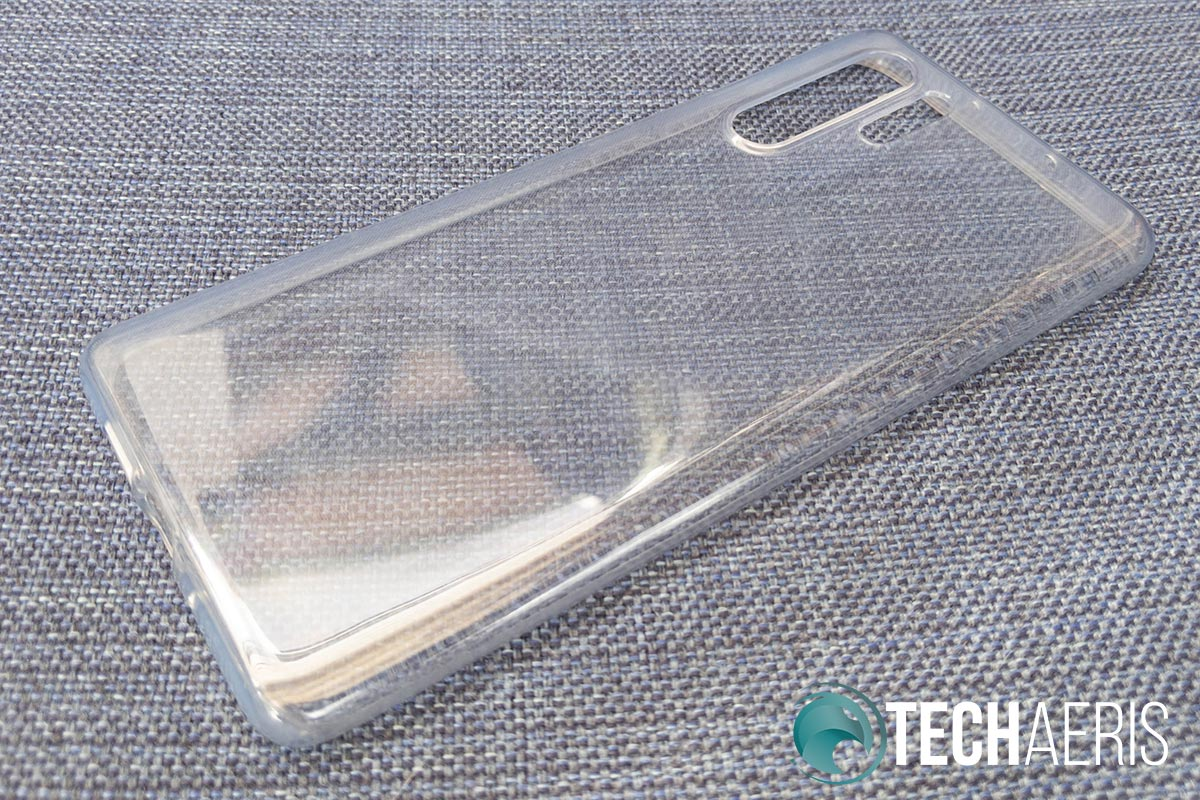 The clear phone case for the P30 Pro