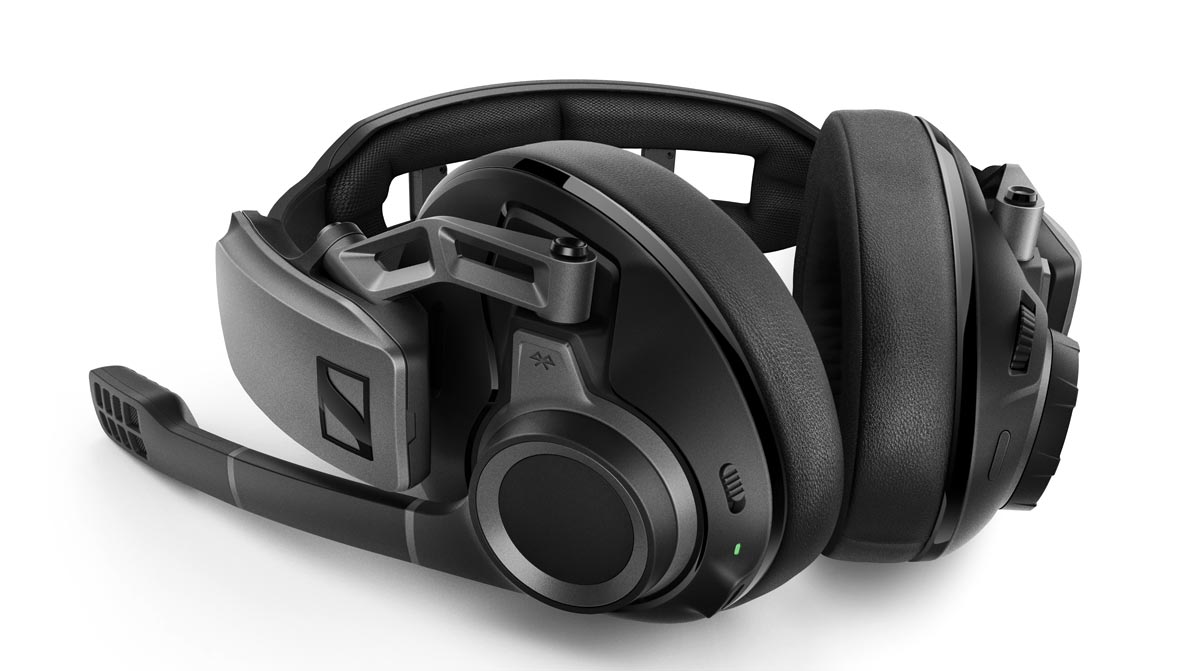 The Sennhesier GSP 670 wireless gaming headset