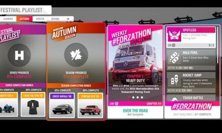 Forza Horizon 4 #Forzathon July 11-18