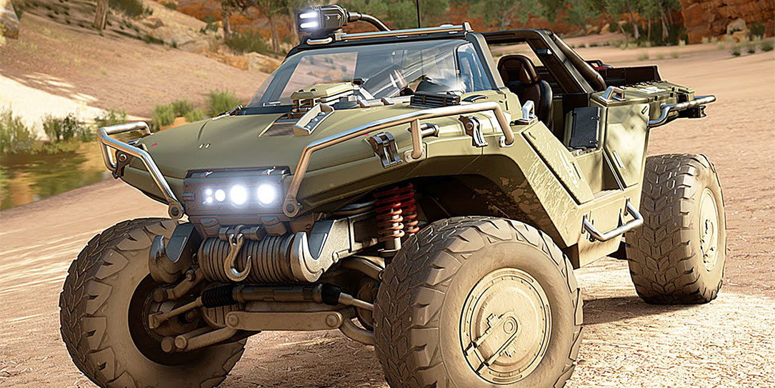 Halo Outpost Discovery Warthog
