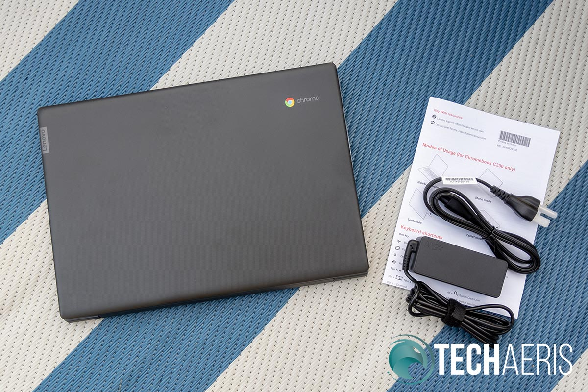 What's included with the Lenovo Chromebook S330