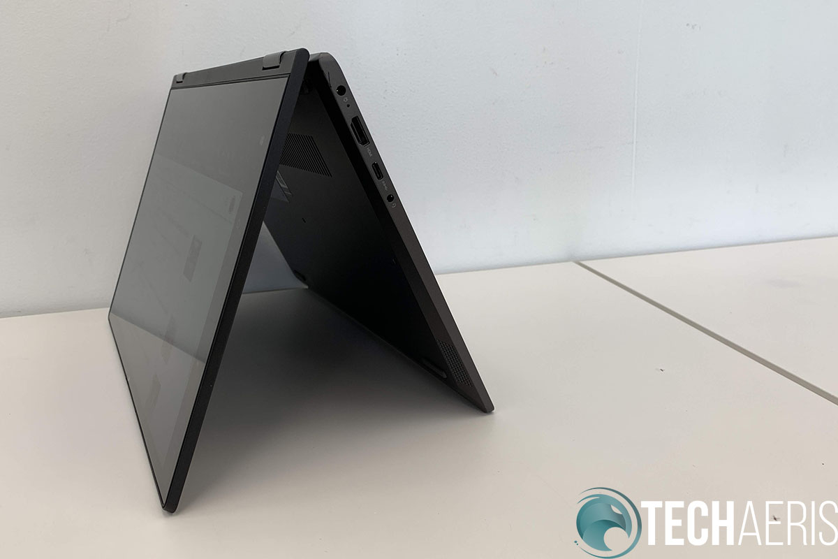 The IdeaPad Flex 14 can be used in multiple modes, including tent mode