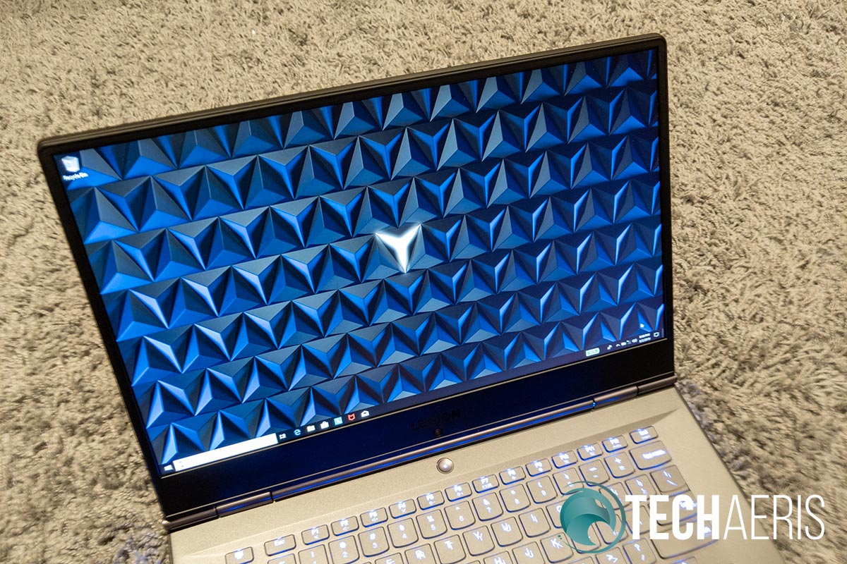 The display is nice and crisp, with decent colours and a 144Hz refresh rate for gaming
