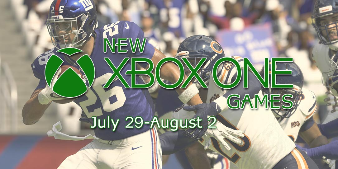 New Xbox Games July 29-August 2