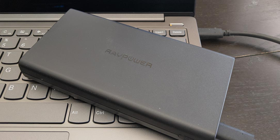 The RAVPower 45W Super-C Series Portable Charger
