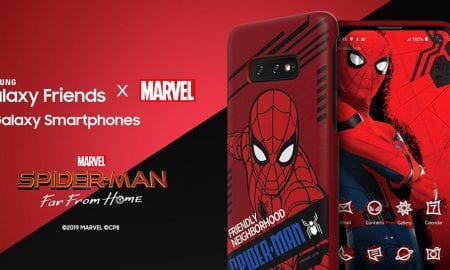 Spider-Man: Far From Home Samsung smart cover