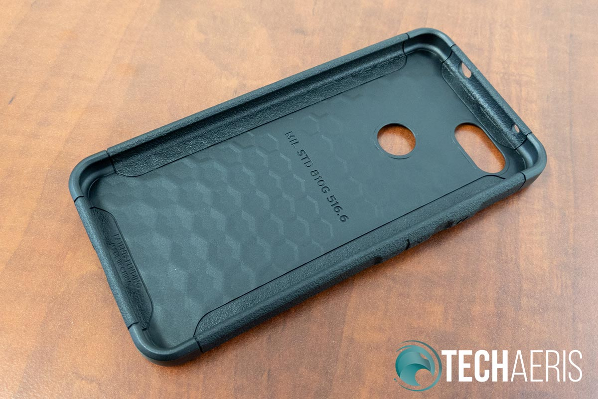 Inside of the UAG Scout phone case