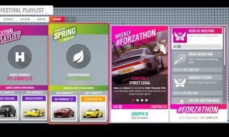 Forza Horizon 4 #Forzathon August 22-29