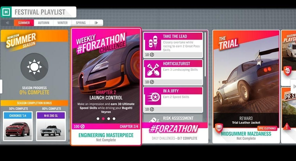 UPDATED] Forza Horizon 4 #Forzathon August 1-8: