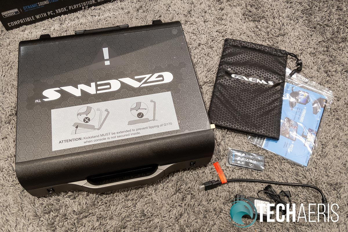 What's included with the GAEMS Sentinel Pro G170 PGE