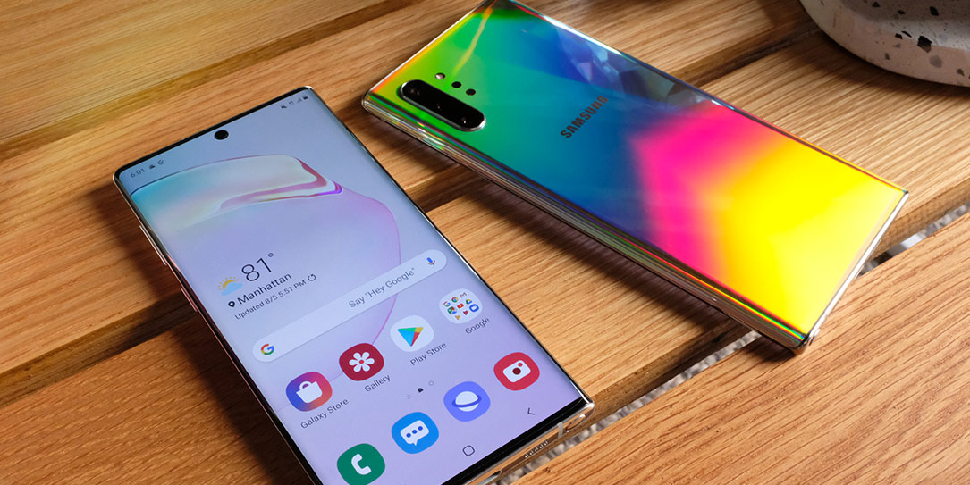 front and rear cameras Samsung Galaxy Note10+