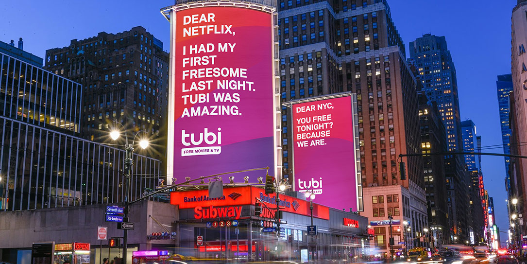 Tubi launches marketing campaign taking jabs at Netflix and Hulu