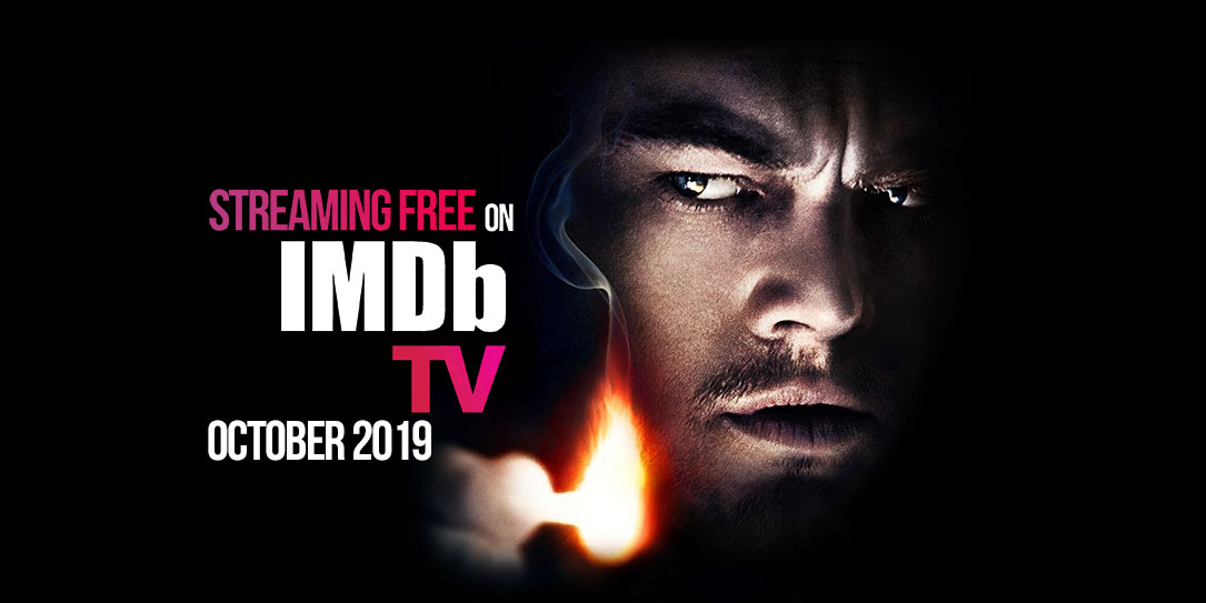 streaming free on imdb tv october 2019