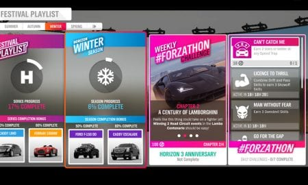 Forza Horizon 4 #Forzathon October 10-17 Horizon 3 Anniversary