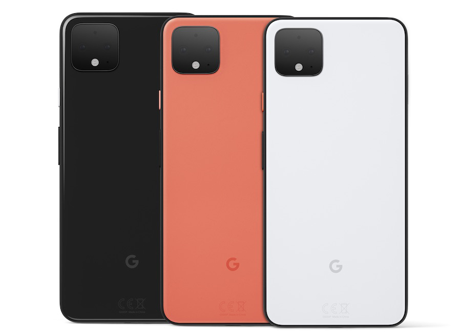 The Google Pixel 4 is available in three colourways