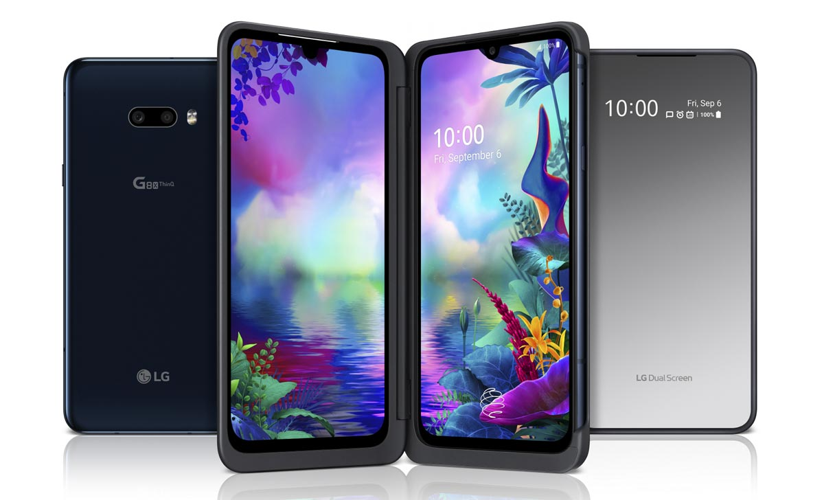 The LG G8X ThinQ Dual Screen smartphone