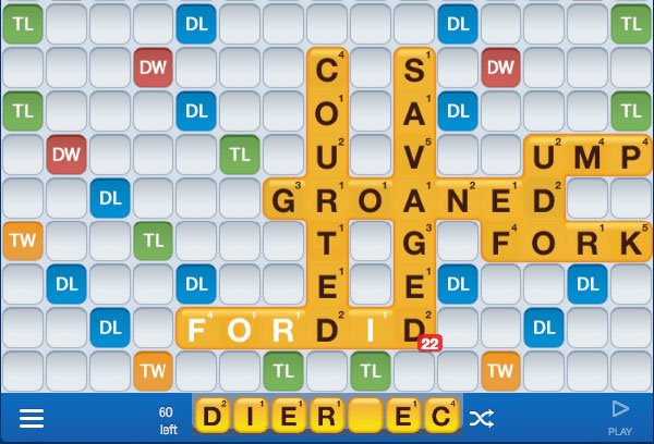Words with Friends Zynga