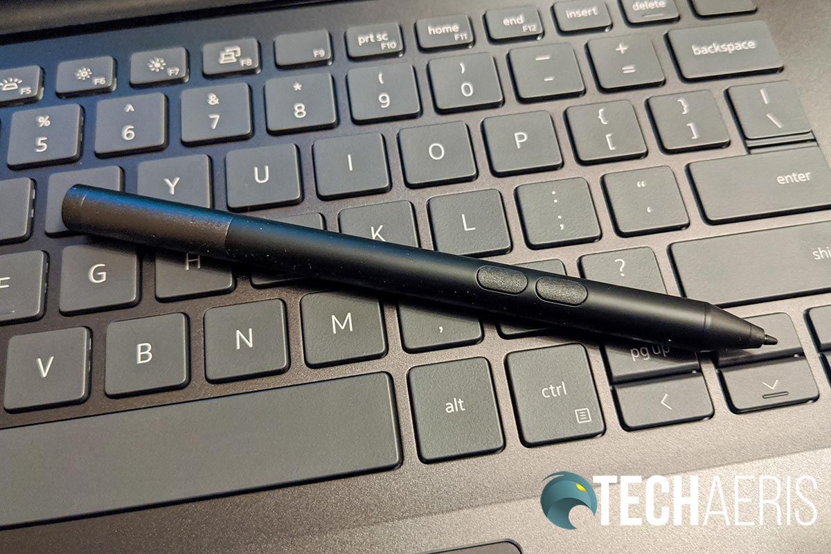 The included Dell Active Pen