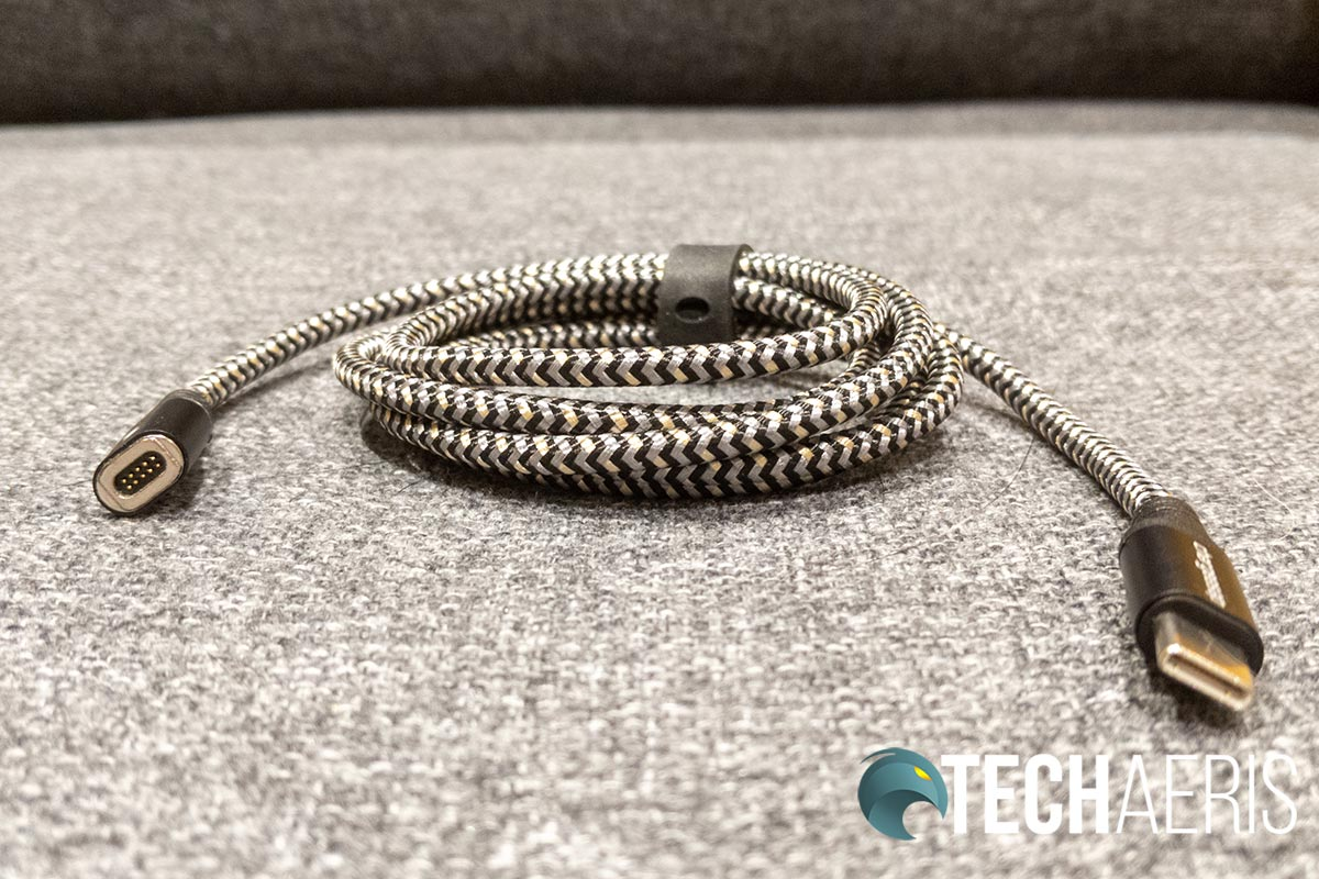 The Chargeasap Infinity Cable is sturdy and solidly constructed.