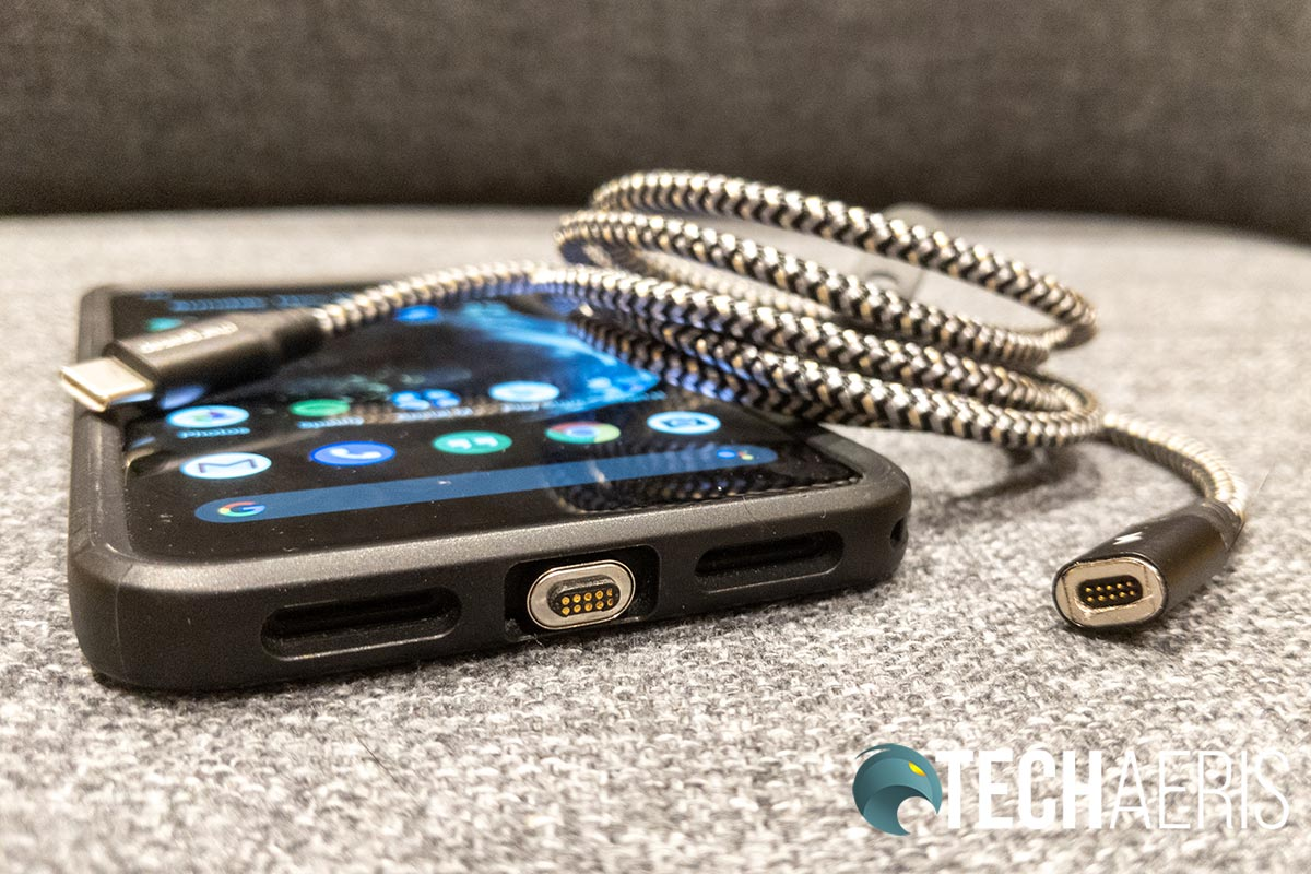 Although pricey, the Chargeasap Infinity Cable is well constructed and offers up convenience