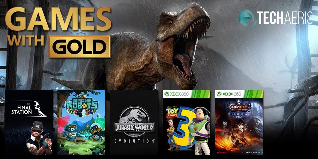 December 2019 Games with Gold