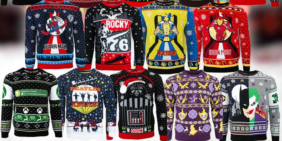 Numskull ugly Christmas sweaters perfect gift