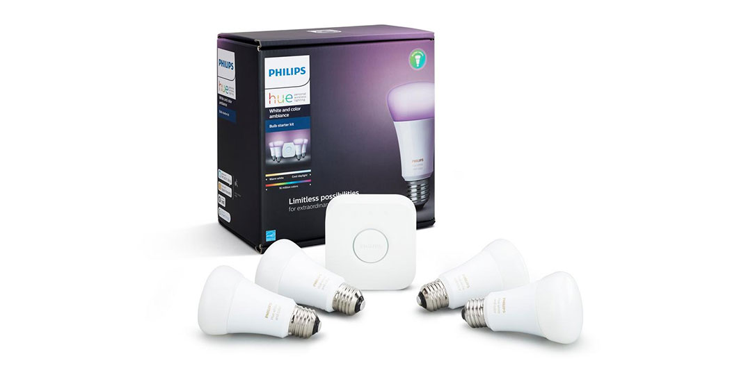 carbon footprint smart home devices Philips Hue