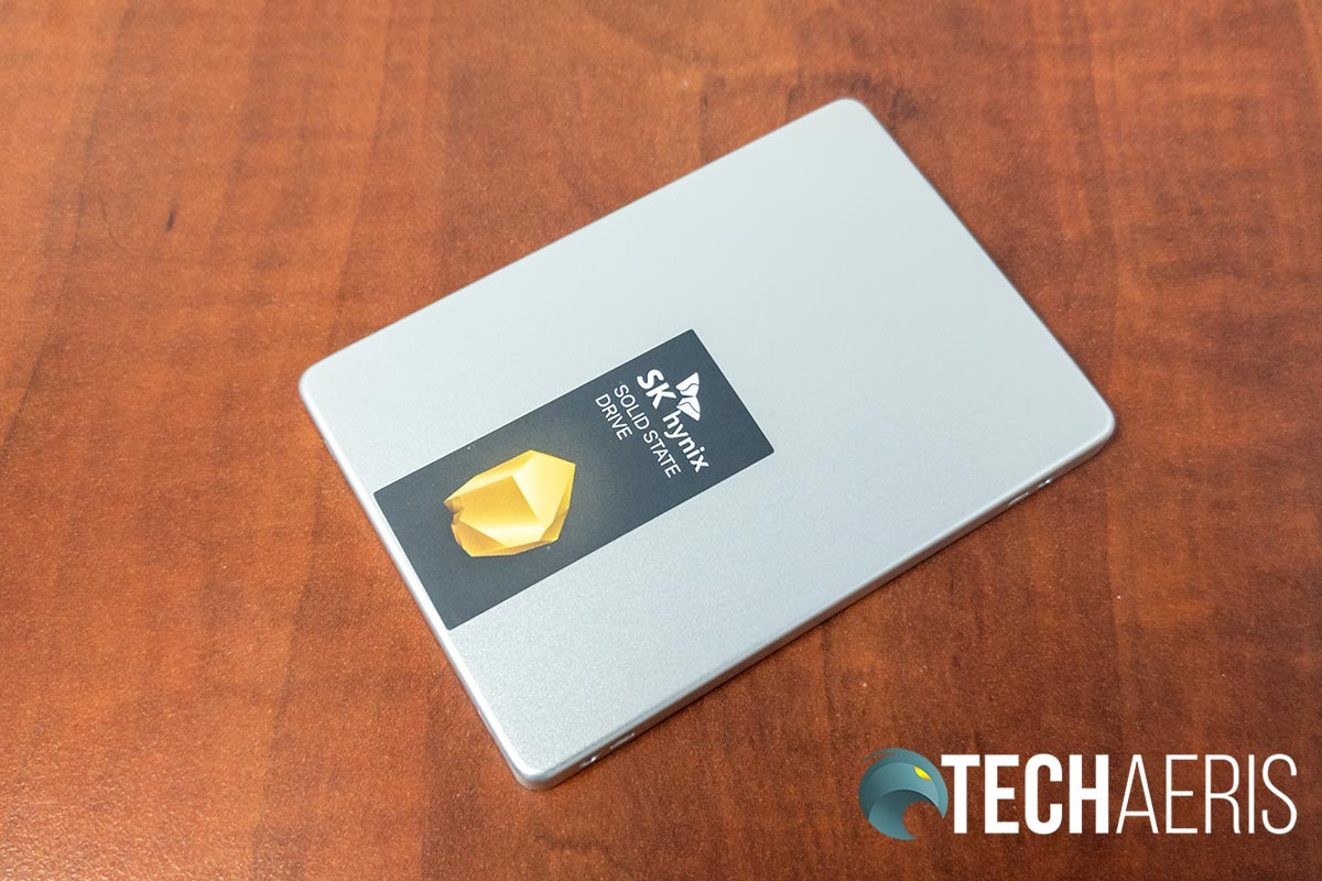The SK hynix Gold S31 SSD drive