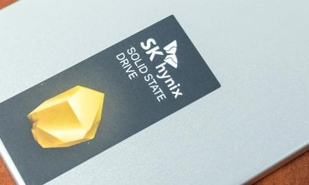 SK hynix Gold S31 SSD label