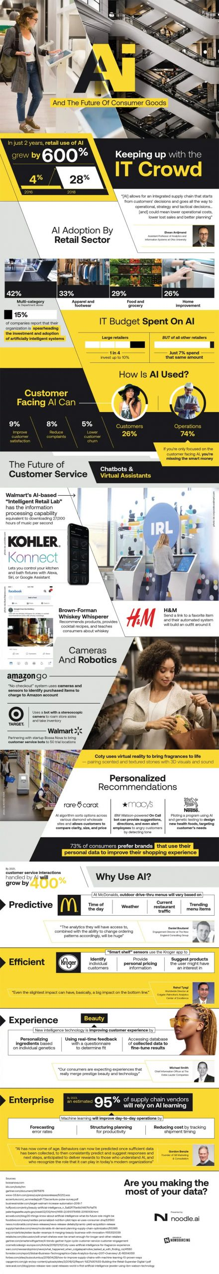 Artificial intelligence consumer