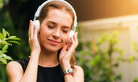 music stress relief