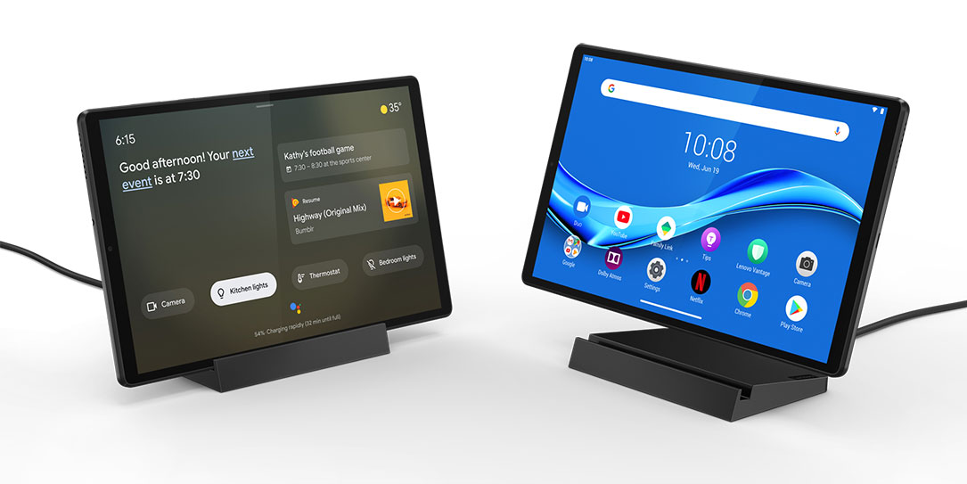 Lenovo Smart Frame and Smart Tab M10 at CES 2020