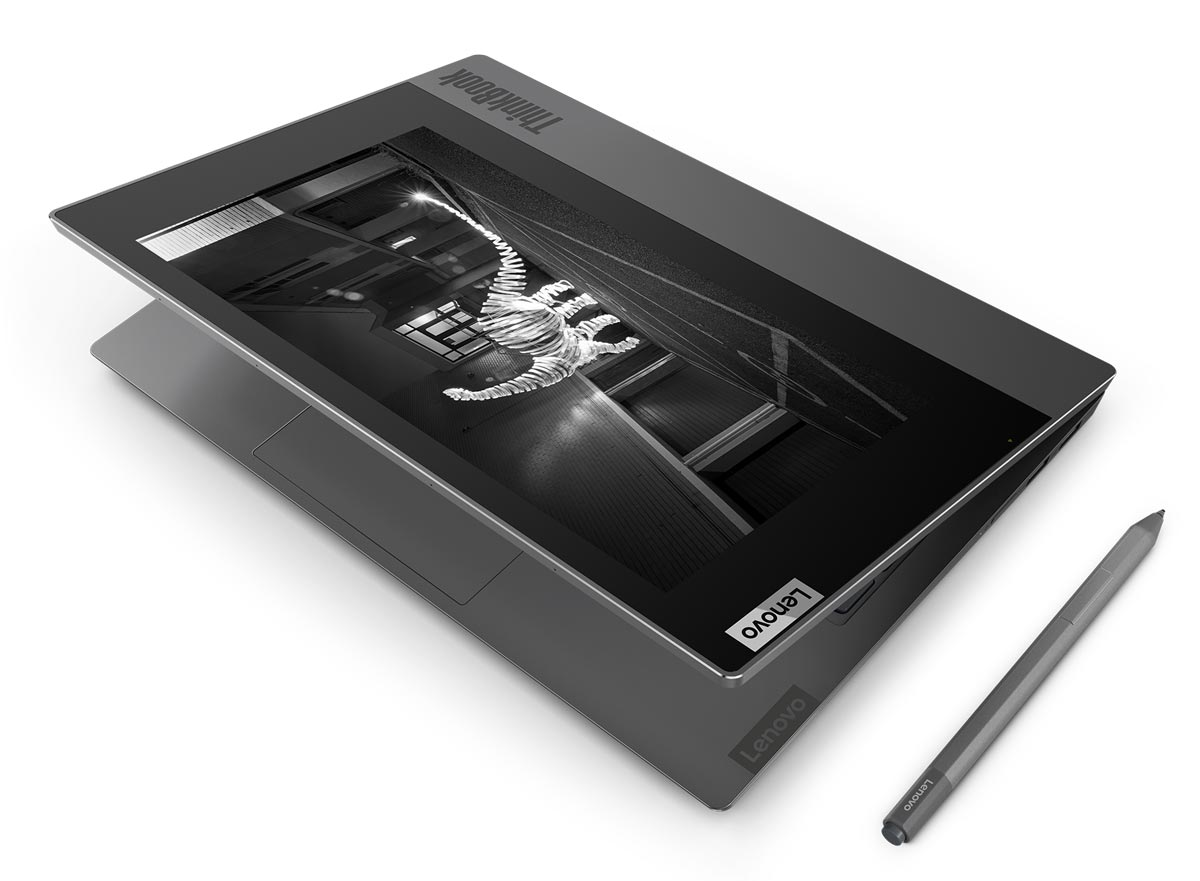 The Lenovo ThinkBook Plus with Precision Pen