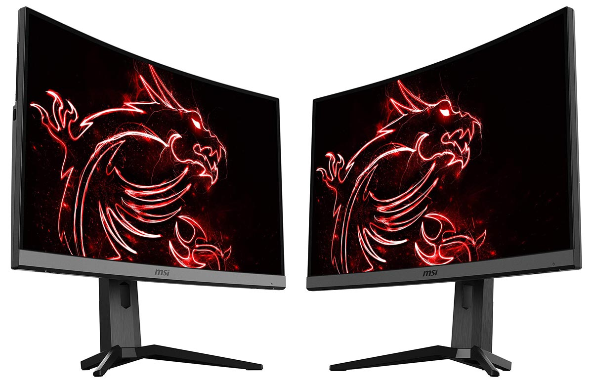 The MSI MAG272CRX curved gaming monitor