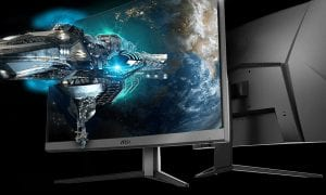 MSI curved gaming monitors