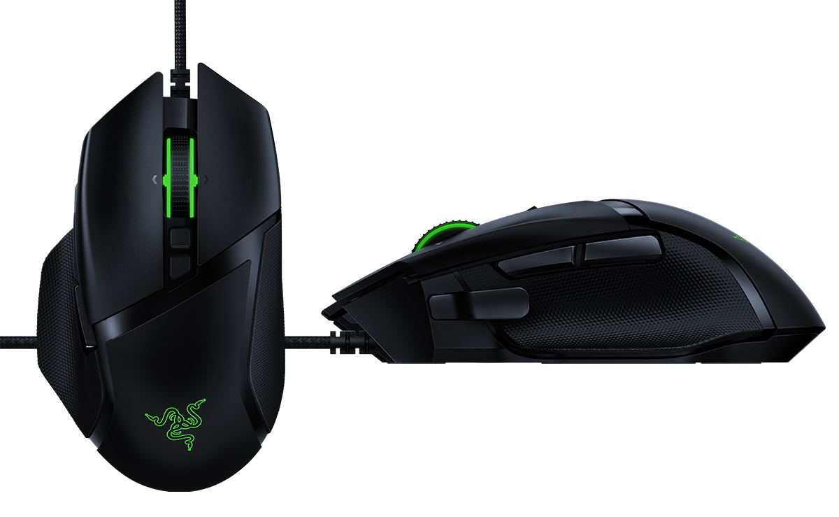 The Razer Basilisk V2 wired gaming mouse