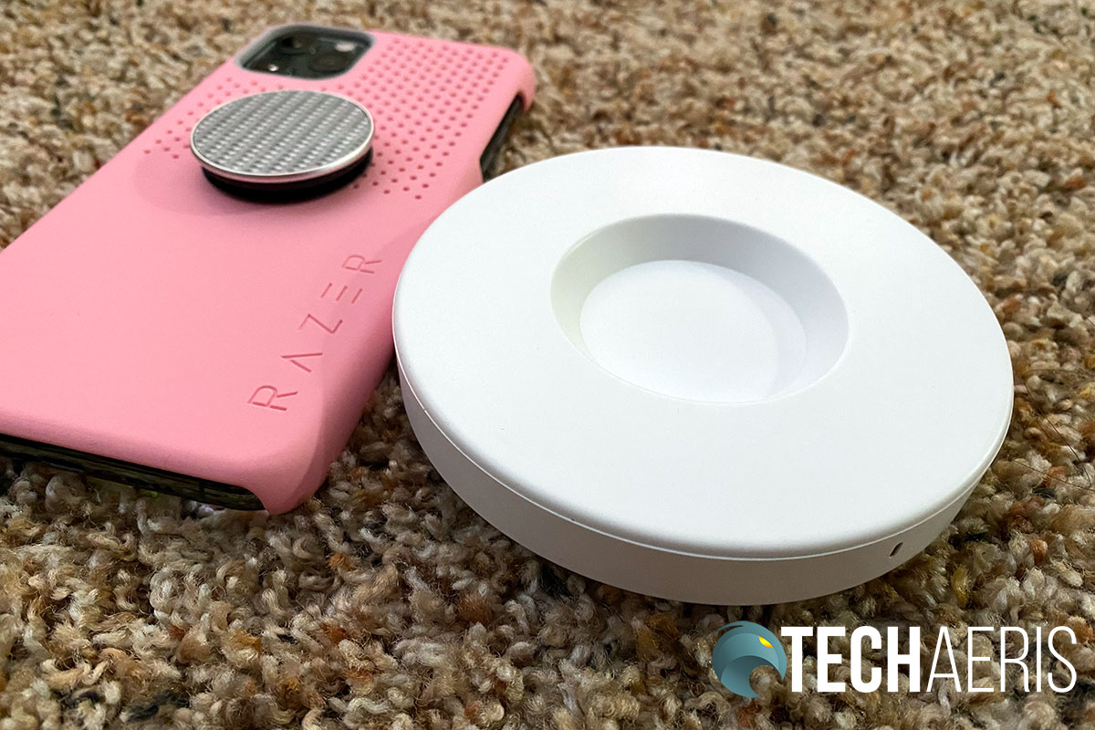PopSockets PopPower Home wirelessly charge case